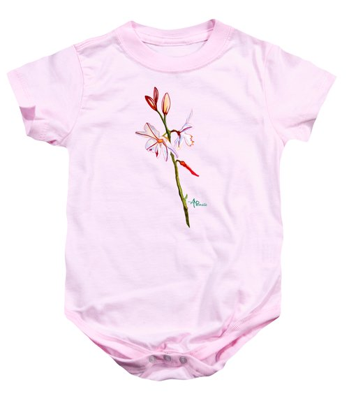 A Single Lily Baby Onesie