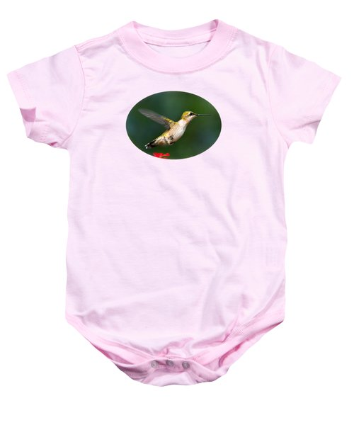 Summer Hummingbird Baby Onesie by Christina Rollo