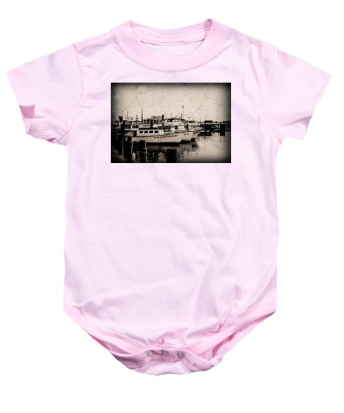 At The Marina - Jersey Shore Baby Onesie