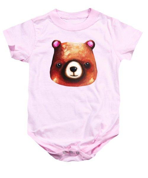 Baby Bear  Baby Onesie by Lucia Stewart