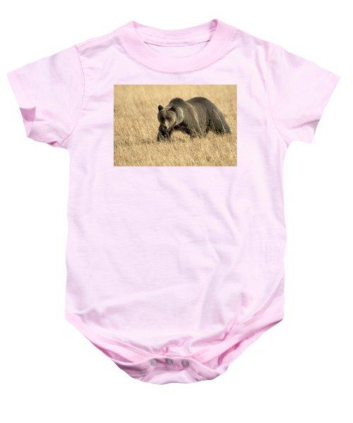 Bear On The Prowl Baby Onesie