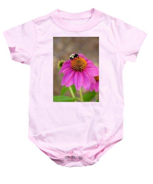 Bee Happy Baby Onesie