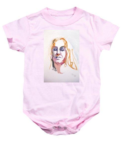 Blonde #1 Baby Onesie