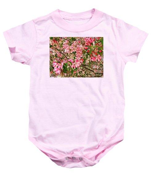 Blossoms Baby Onesie