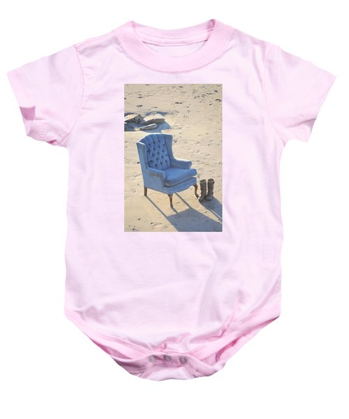 Blue Chair Baby Onesie