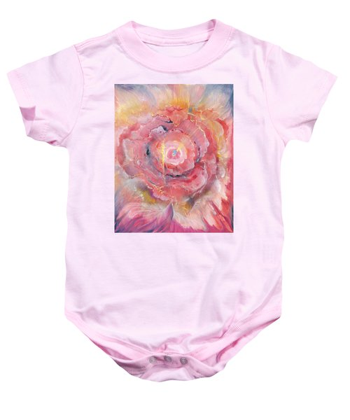 Broken Spirit Rose Baby Onesie