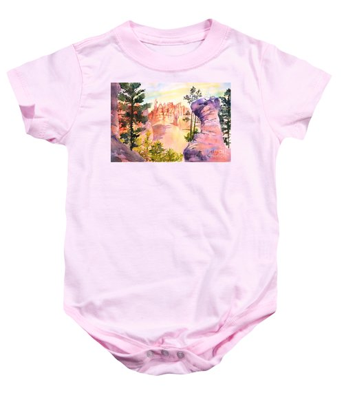 Bryce Canyon #4 Baby Onesie