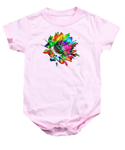 Burst Of Color Baby Onesie