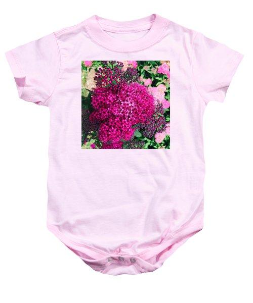 Burst Of Pink Delight Baby Onesie