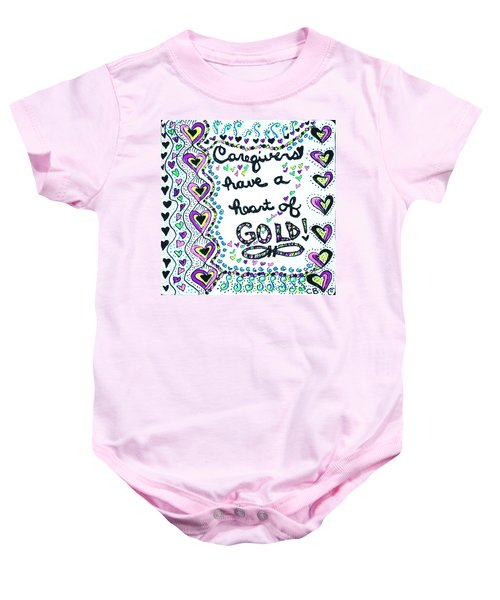 Caregiver Joy Baby Onesie