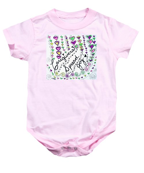 Caregivers Spread Joy Baby Onesie