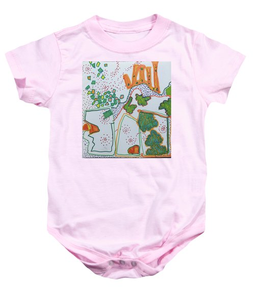 Castle On The Hill Baby Onesie