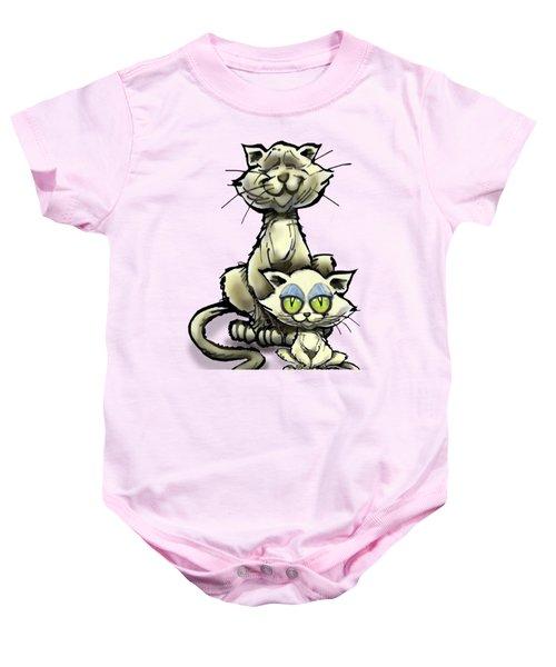 Cat N Kitten Baby Onesie