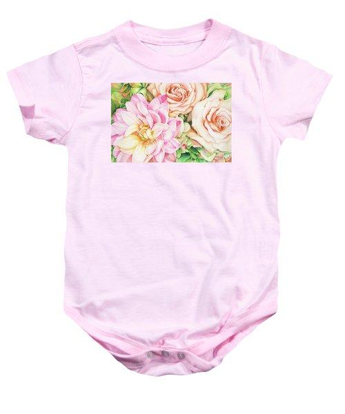 Chelsea's Bouquet Baby Onesie