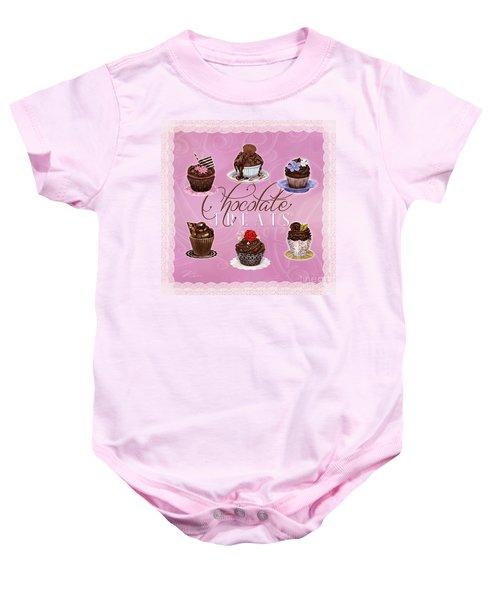 Chocolate Treats Baby Onesie