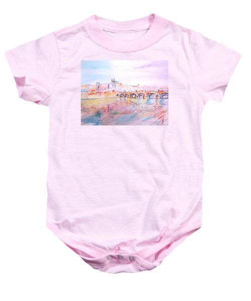 City Of Prague Baby Onesie