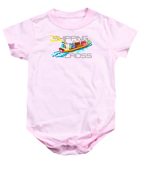 Cross Shipping Baby Onesie