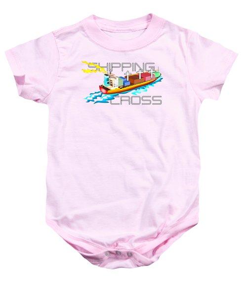 Cross Shipping Baby Onesie