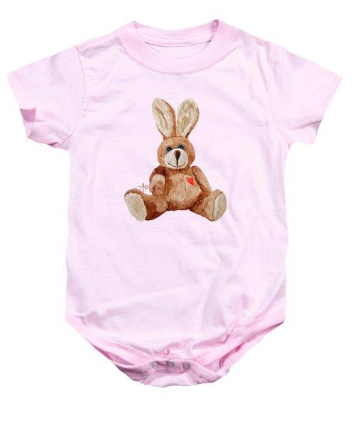 Cuddly Care Rabbit Baby Onesie