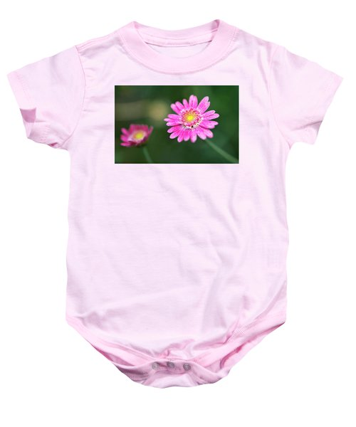 Daisy Flower Baby Onesie