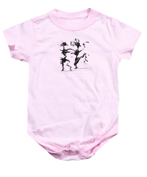 Dancing Couple 4 Baby Onesie