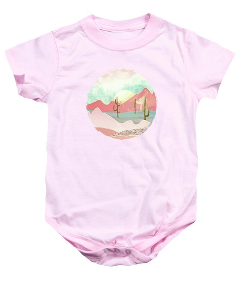 Desert Mountains Baby Onesie by Spacefrog Designs