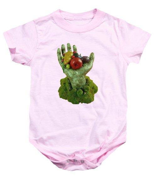 Divine Nutrition Baby Onesie by Przemyslaw Stanuch
