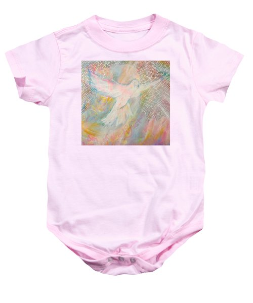 Dove Detail From Immaculate Conception Baby Onesie