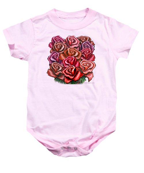 Dozen Roses Baby Onesie
