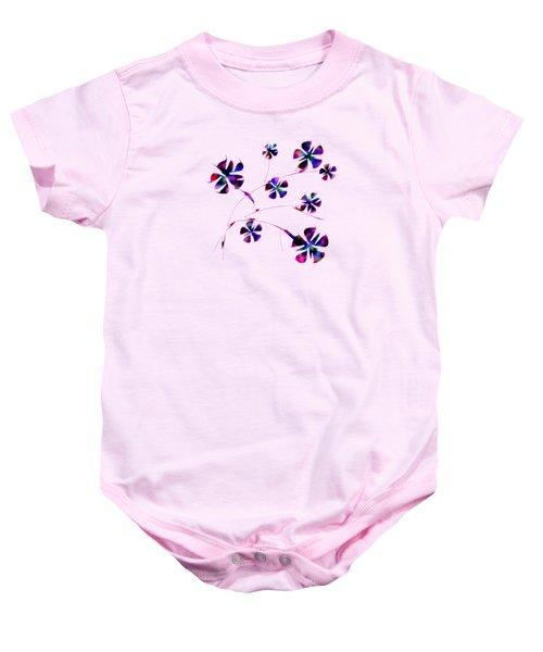 Dream Flowers Baby Onesie