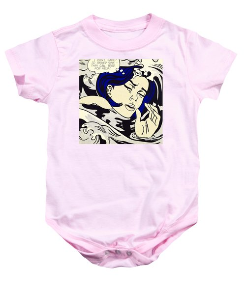 Drowning Girl - Aka Secret Hearts, I Don't Care Or I'd Rather Sink Baby Onesie