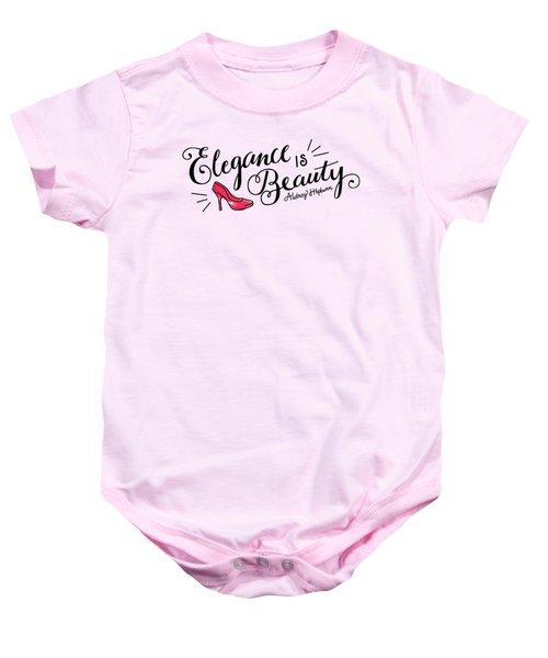 Elegance  Baby Onesie by Elizabeth Taylor