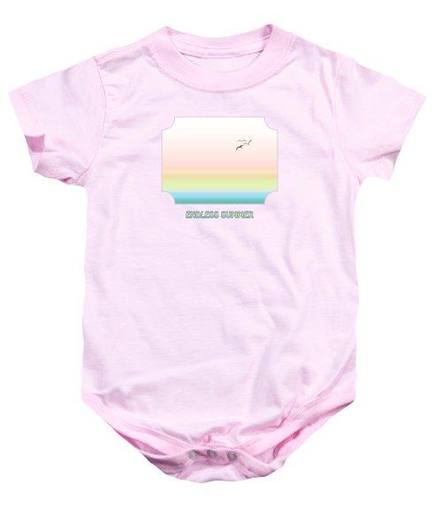 Endless Summer - Pink Baby Onesie