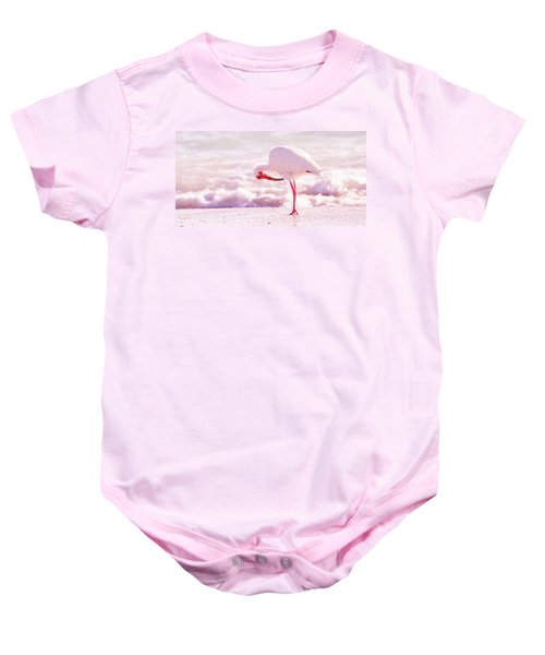 Feather Out Of Place Baby Onesie