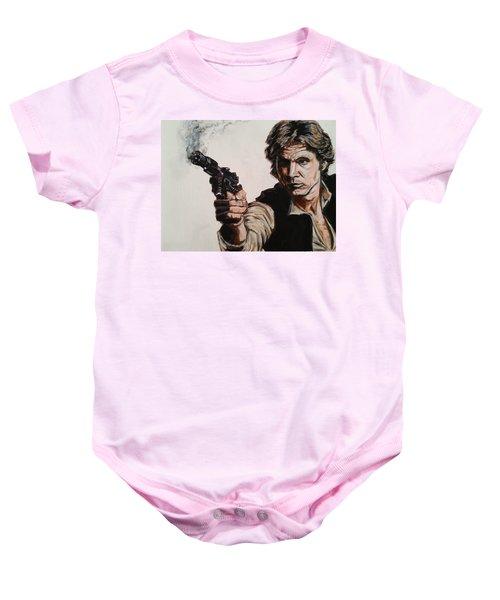 First Shot - Han Solo Baby Onesie