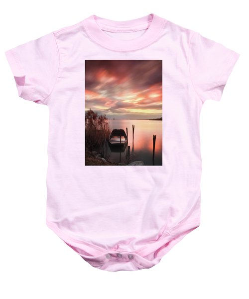 Flame In The Darkness Baby Onesie