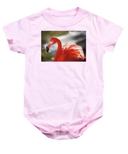 Flamingo 2 Baby Onesie