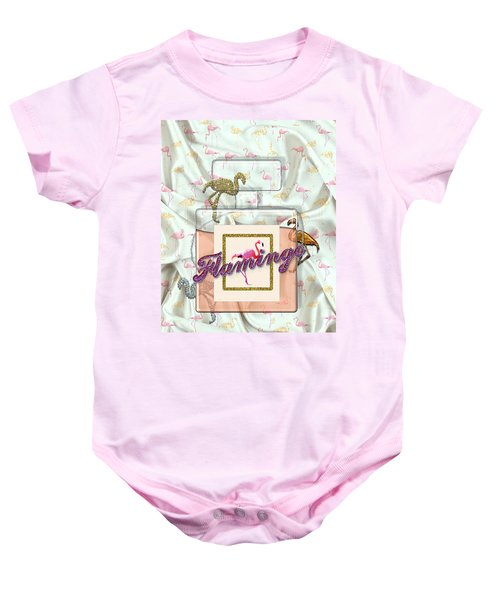 Flamingo Baby Onesie by La Reve Design
