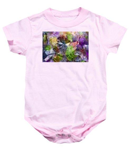 Floral Dream Of Oriental Beauty Baby Onesie
