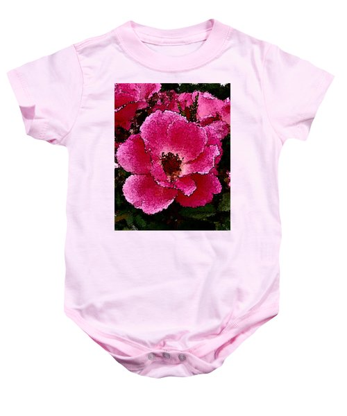 Flower Painting Collection 19 Baby Onesie