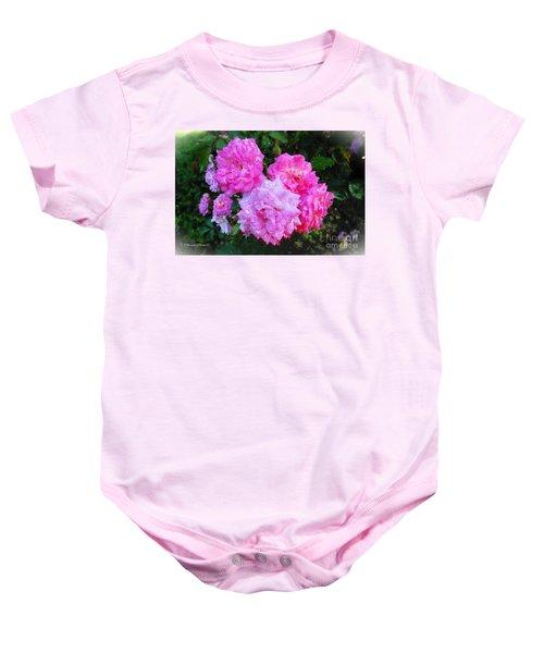 Frank's Roses Baby Onesie