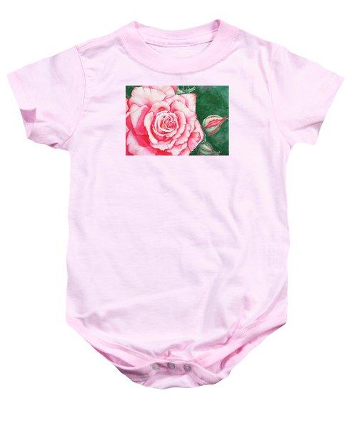 Full Bloom Baby Onesie