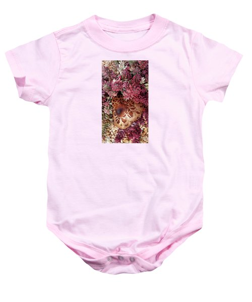 Fungus And Succulents Baby Onesie