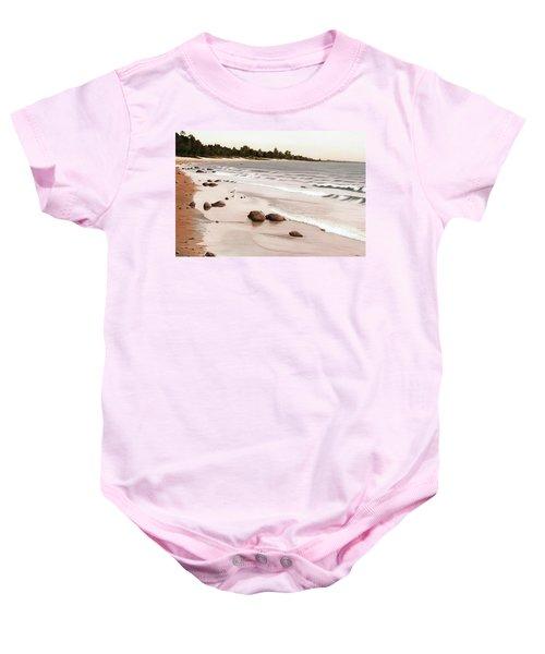 Georgian Bay Beach Baby Onesie