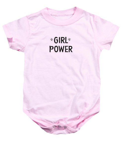 Girl Power- Design By Linda Woods Baby Onesie