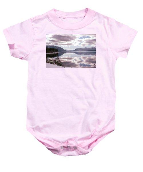 Glacier National Park 6 Baby Onesie