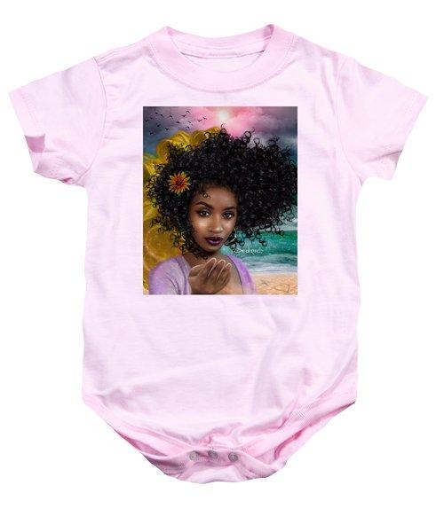 Goddess Oshun Baby Onesie