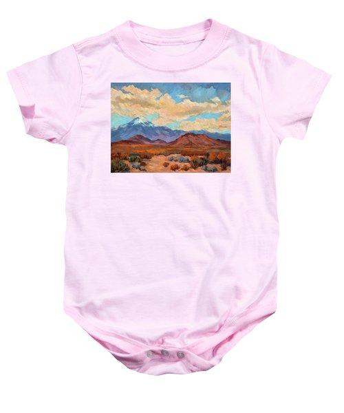 God's Creation Mt. San Gorgonio  Baby Onesie