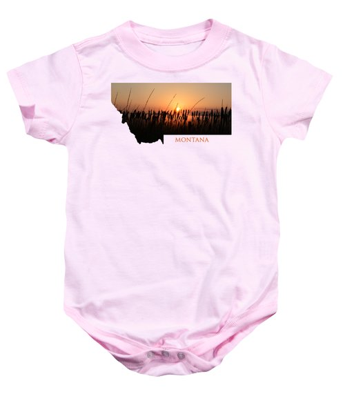 Good Morning Montana Baby Onesie