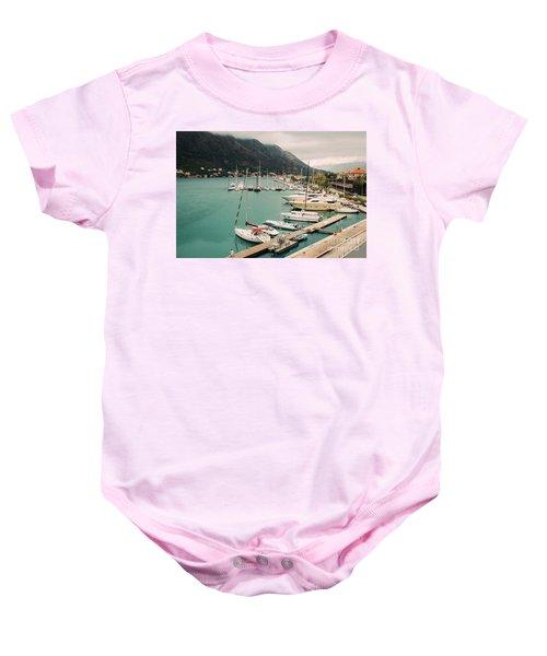 Gulf Of Kotor Baby Onesie